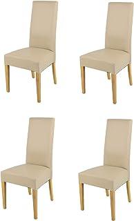 Tommychairs - Set 4 sillas Luisa para Cocina, Comedor, Bar y