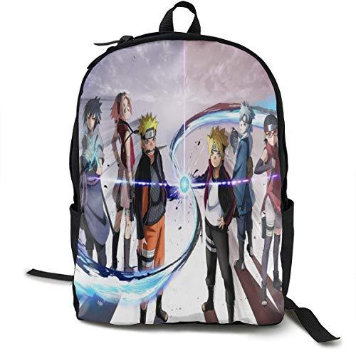 Boruto Rucksack für den Mann Leichte Reiserucksäcke Student Rucksack Business Langlebiger Rucksack mit großer Kapazität