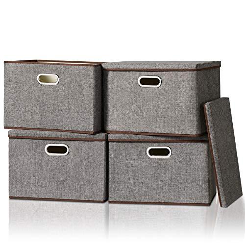 La Mejor Selección de Cubos de almacenaje con tapa - los más vendidos. 6