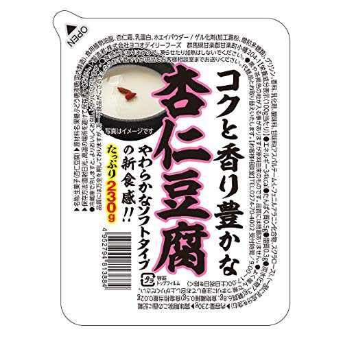 ヨコオデイリーフーズ 杏仁豆腐 230g×6個入