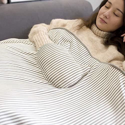 YaOJP Draagbaar elektrisch verwarmingsdeken, via USB opladen en warme handtas voor thuis, school, car of kantoor