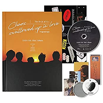 DAY6 7th Mini Album - The Book Of Us   Negentropy - Chaos swallowed up in love [ One& Ver ] CD+Photobook+Photocard+Group Photocard+LOGO Sticker+Message Card+Film Roll Bookmark+OFFICIAL POSTER