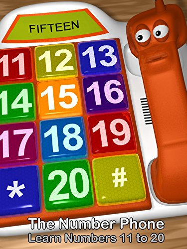 The Number Phone - Learn Numbers 11 to 20