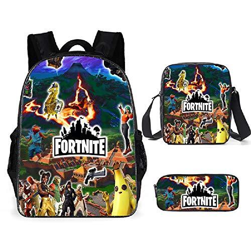 Mochilas de escuela primaria, bolsas de escuela de tres piezas, mochilas de viaje, mochilas de excursión