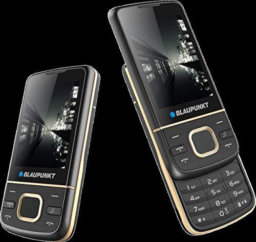 Blaupunkt FM 01 Slider Phone 2G Dual SIM 2,4 Zoll (Black) ohne Simlock, ohne Branding