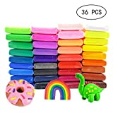 36 Colors Air Dry Clay,Magical Kids Clay, Ultra Light Modeling Clay,Best Gifts for Kids