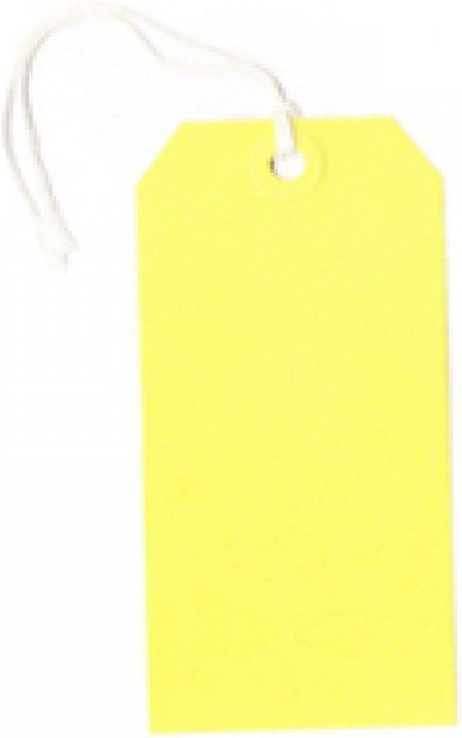 Q-Connect KF01626 Strung Tag 120x60mm Pack 1000 - of Max 48% Discount mail order OFF Yellow