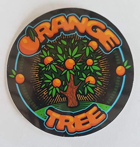 Orange Tree Vinyl-Aufkleber Cali Slap Weed 420 710 Marihuana Cannabis Aufkleber Laptop Auto Werkzeugkiste Skateboard-Board