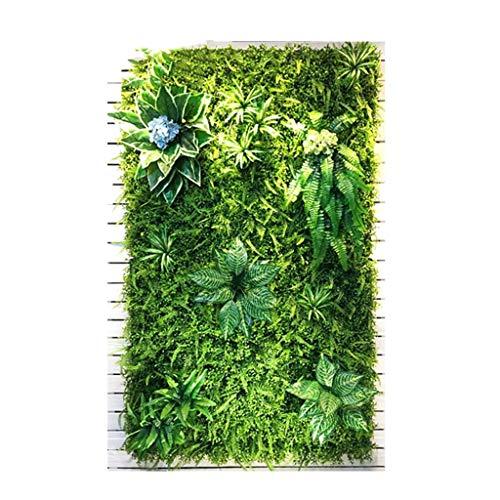 LIYONG Imitación Green Plant Paneles Pantalla de privacidad Artificial Césped para decoración de Pared al Aire Libre Interior (Size : 1m²)