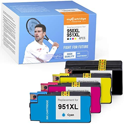 myCartridge PHOEVER Compatible Ink Cartridge Replacement for HP 950XL 951XL 950 XL 951 XL Ink product image