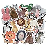 Cute Animal Stickers Pack Vinyl Laptop Kids Girls Water Bottle Travel Case Skateboard Guitar Bike Sticker Decals Party Supplies Decorations