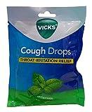 Vicks Cough Drops, Menthol, 20 Pieces Pouch