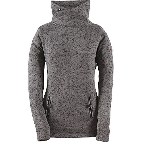 2117 of Sweden Damen Wave Fleece Jacke Lessebo, Dark Grey, 34