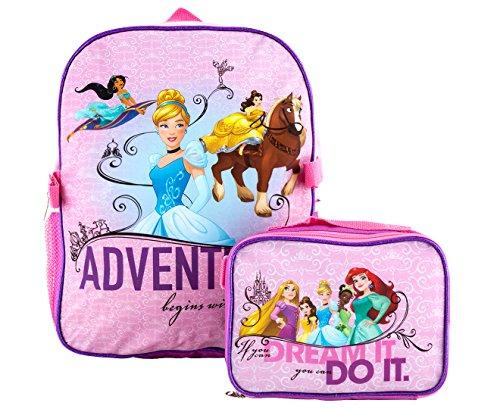 Disney Princess Unisex - Kinder Schulrucksack Gr....