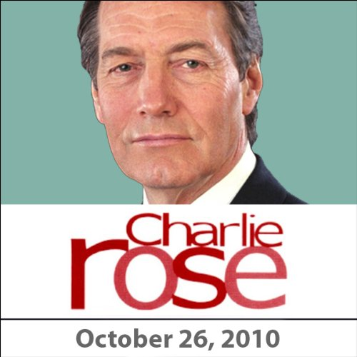 Charlie Rose: Noomi Rapace, Mehmet Zafer Caglayan, and Michael Mandelbaum, October 26, 2010 audiobook cover art