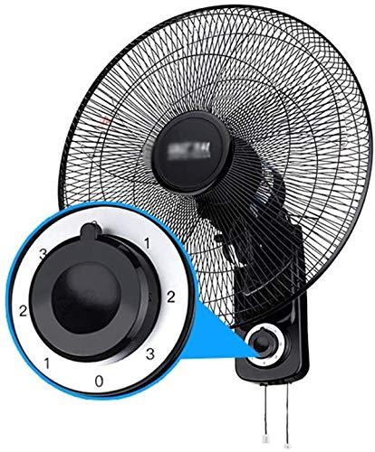 Haojie Muro de Ventilador, 16/18 Pulgadas de Escritorio mecánico eléctrico Ventilador con cordón,A,18 Inches