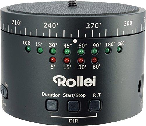 Rollei ePano II 360 DSLR Piattaforma Girevole per DSLR, Nero