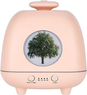 アロマテラピー機、エッセンシャルオイルディフューザー自動エアロゾルディスペンサー香カラフルな香りランプ加湿器 (色 : A)