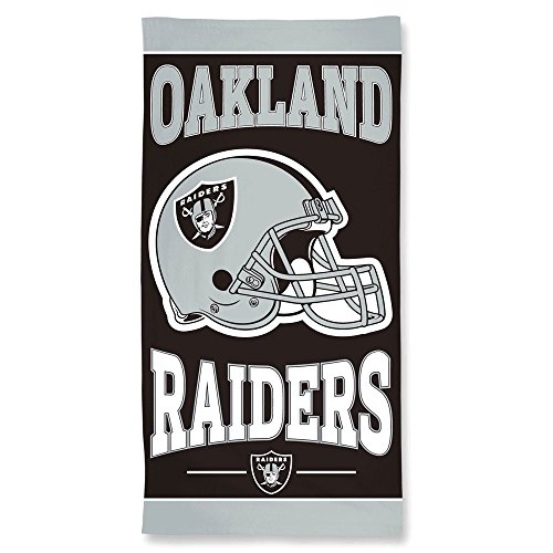 Wincraft NFL Oakland Raiders Strandtuch, 76 x 60 cm