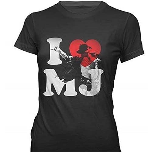 1b98b8528acf Bravado Juniors Michael Jackson  I Heart Mj T-Shirt