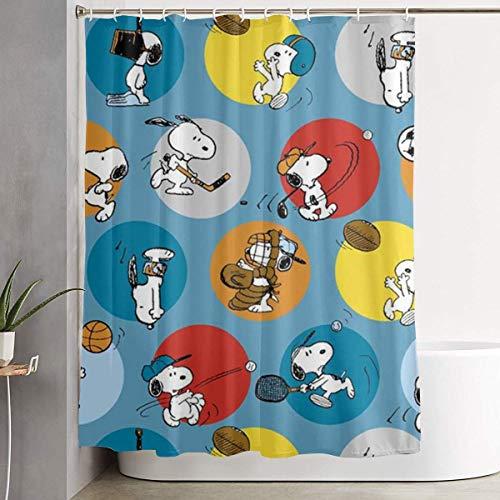 cortinas baño snoopy