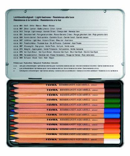 LYRA 2011120 – Lápices, 12 unidades, metálico