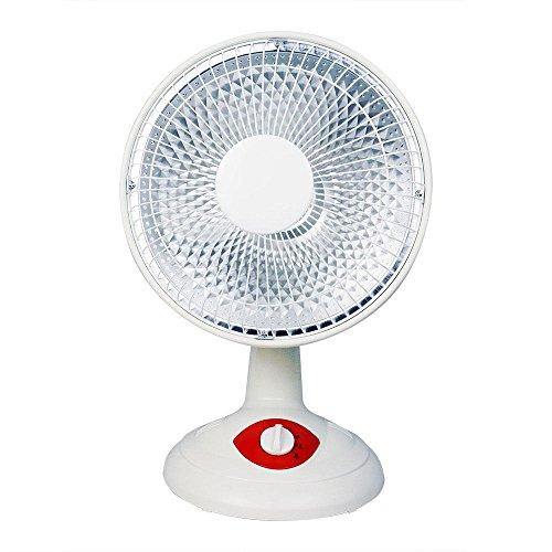 JRM Calentador Calentador de Casa Ventilador Vertical Sacudiendo Su Cabeza Ventilador Eléctrico Ahorro de Energía Dormitorio Calefacción Eléctrica,Blanco
