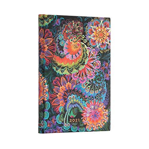 Paperblanks 12-Monatskalender 2021 Mondlicht | Verso | Midi (130 × 180 mm)