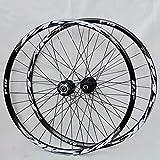 ns Set di Ruota Bici Mountain Bike 26'/27,5'/29' Doppio Muro MTB Cerchio Biciclette Anteriore 2 Posteriore 4 Mozzo Cassetta 7-11 velocità Rilascio Rapido