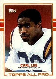 1989 Topps Football #76 Carl Lee RC