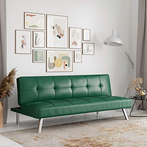 Serta Rane Collection Sofabed, Full, Green