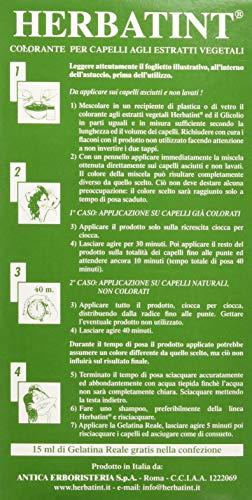 Tinta Per Capelli Colorazione Permanente Senza Ammoniaca Naturale Herbatint 265 Ml N. 5 R Colore Castano Chiaro Ramato