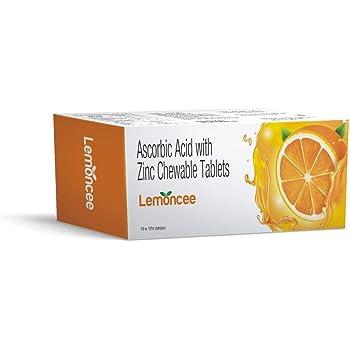 Lemoncee Vitamin C Tablets - Pack of 100 Tablets