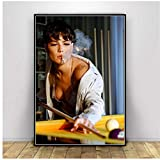 leomuzi Halsey Poster Rapper Music Singer Smoking Posters and Prints Wall Painting Wall Art Home Decor Gift -50x75cm No Frame