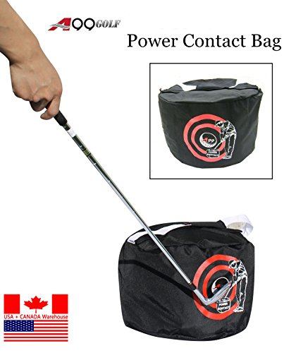 New Golf Swing Training Aids Golf Contact Power Smash Bag Black