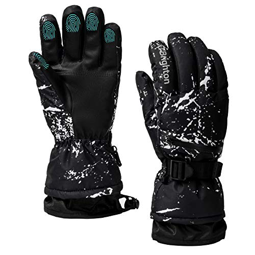 O'Brighton Ski Gloves for Men Women
