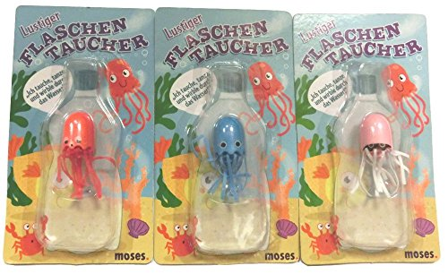 Moses 30690 Flaschentaucher Qualle