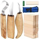 Yangbaga coltello da intaglio strumento coltello da intaglio con coltello a uncino manica coltello e