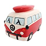 *Medium Red Campervan Moneybox (12/24)