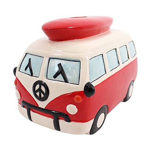 *Medium Red Campervan Moneybox (12/24)