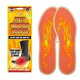 Max Solutions Fußwärmer Einlegesohlen Paar Wärmepads 8 Stunden Wärme gebrauchsfertig Fußwärmer...