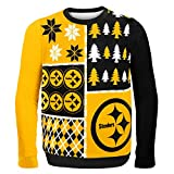 NFL Pittsburgh Steelers BUSY BLOCK Ugly Sweater, XX-Large