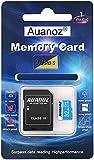 Auanoz TF-Speicherkarte 32GB, Klasse 10 Datenlesen übertreffen Speicherkarte für Telefon, Tablet und PC - mit Adapter.(Blau-32gb)