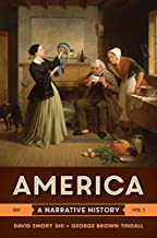 Best america a narrative history 10th edition volume 1 Reviews