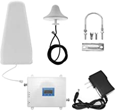 4G Double Bande Double LCD T/él/éphone Amplificateur de Signal de T/él/éphone Portable R/ép/éteur de Signal Amplificateur de Signal Ensemble Amplificateur de Signal KKmoon GSM//DCS 900 1800MHz 2G