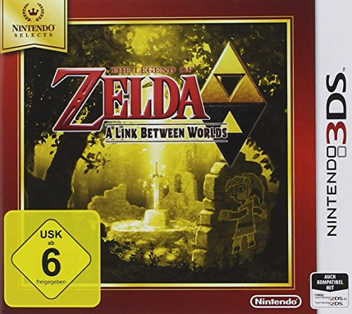 The Legend Of Zelda: A Link Between Worlds- Nintendo Selects - [Importación Alemana]