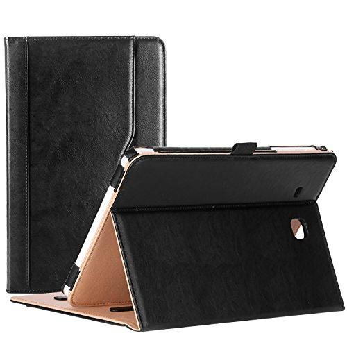 ProCase Samsung Galaxy Tab E 9.6 Case (SM-T560 / T561 / T565 / T567) – Premium PU Leather Stand Folio Case Cover, for Galaxy Tab E 9.6 Inch Tablet 2015 Release -Black