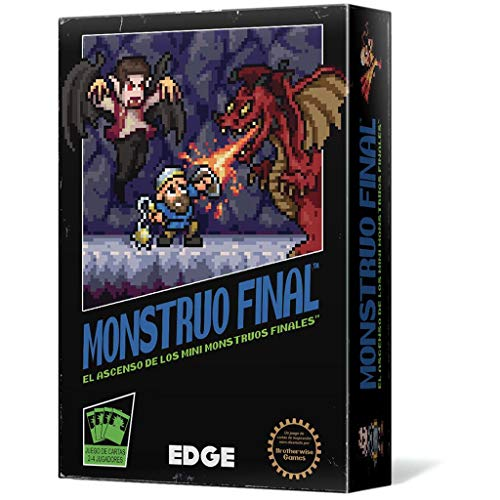 Edge Entertainment Ascenso de los Mini-Monstruos Finales, Color (EEBWBM05)