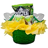 Premium Margarita Gift Basket Fully Loaded with Glasses & Snacks | Cocktail, Mocktail Gifts