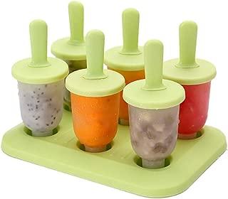 Cute 6 Bear Molds Ice Lolly Molds Maker Form Yogurt Ice Box Fridge Frozen Ice Cream Tools,B1